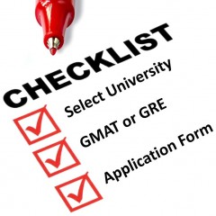 Checklist for Applying to Foreign Universities